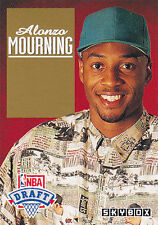 1992 Skybox ALONZO MOURNING Draft Pick Rookie #DP2 HORNETS