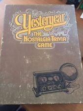YESTERYEAR THE NOSTALGIA TRIVIA GAME SKOR-MOR 1973