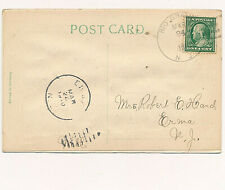 RIO GRANDE, N.J. 4-BAR CANCEL. TO- ERMA N.J.(DPO). BIRTHDAY GREETINGS PC.