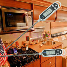 Digital LCD Display Themometer Probe Cooking Food Kitchen BBQ Tool Temperature