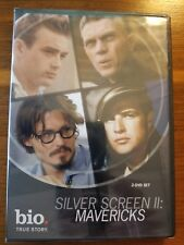 SILVER SCREEN 2: MAVERICKS ( BIOGRAPHY CHANNEL ) 2 DISC SET NEW AND SEALED