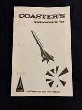 Vintage Coaster's 1962 Model Rocket Rocketry Catalog NAR