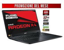 "Acer A6-9220E, RAM 12GB, SSD 256GB M2, Display 15.6"" Full HD LED,  Radeon R4"