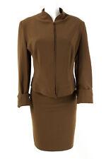 CULT SUSANNE WIEBE Kostüm Gr. M-L / 38-40 Blazer Rock Business Suit Jacket Skirt