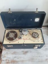 Reports Reel to Reel TAPE RECORDER portable vintage made in GT BRITAIN