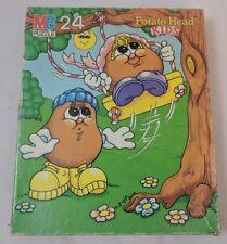Potato Head Kids Vintage Puzzle 1986 HasbroMilton Bradley 24pcs Boxed Complete