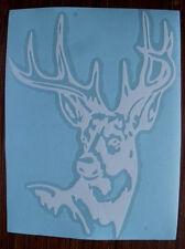 Buck Deer Head Rack Hunting Vinyl Window Decal