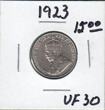 1923 Canada 5 Cents Coin - VF-30