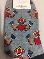 Sock Smith Socks Irish Wedding Hands Heart Crown Gift Stocking Stuffer