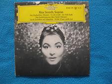 """Rita Streich/Die Zauberflöte """"Der Hölle Rache + Serail Vinyl Single 7"""" 1960er NM"""