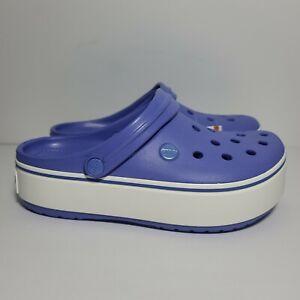 Crocs Crocband Platform Clog Women's Size 8 New With Tags 205434-4SE