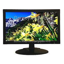 "Gargoyles CCTV Security Monitor 19"" Professional 3DFilter LED HDMI VGA BNC Audio"
