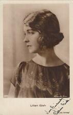 Lilian Gish Original Signed Iris AK 20er