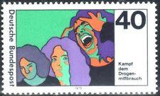 SELLOS TEMA MEDICINA. ALEMANIA 1975 713  4v.