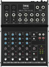 IMG Stage Line MMX-22 4-Kanal-Audio-Mischpult  6 Eingängen 17-168