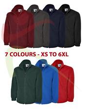Uneek Classic Full Zip Micro Fleece Jacket Casual Work Wear Extra Warm Mens TOP