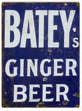 Batey's Ginger Beer Advertisement Country Sign
