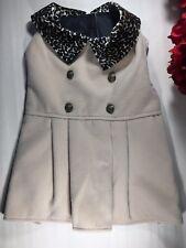 Dog Coat Medium Tan Color Leopard Design Fashion Jacket High Fashion Wag-a-tude