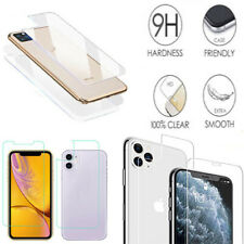 "Front & Back HD Tempered Glass Screen Protector For iPhone 11 6.1"" A2221, A2111"
