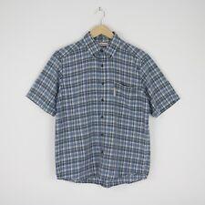 Mens Columbia Sportswear Company Check Button Down Short Sleeve Shirt M 2686