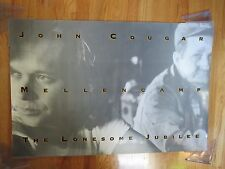 "1987 JOHN COUGAR MELLENCAMP ""The Lonesome Jubilee"" Tour Promotional Poster"