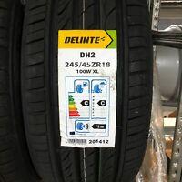 1x Sommerreifen DELINTE DH2 245/45 R18 100W XL - C, C, 2, 72dB