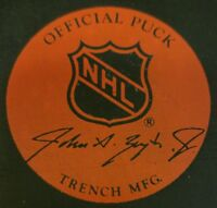 DOUG WEIGHT #39 SIGNED RARE VINTAGE ZIEGLER NEW YORK RANGERS OFFICIAL GAME PUCK