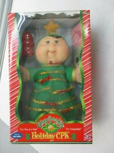 CABBAGE PATCH KIDS CPK HOLIDAY DOLL WALMART EXCUSIVE NEW NIB CHRISTMAS TREE 5/5