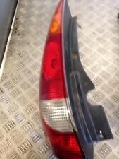 2002 Nissan Almera Tino 1.8 QG18DE Passager Gauche Nsr Feu Arrière Lampe Cluster