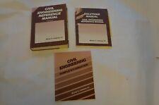Civil Engineering Reference Manual Set Books