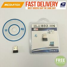 Mini USB WiFi WLAN MediaTek 150Mbps Wireless Network Adapter 802.11n Dongle #01