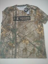 NWT Under Armour SZ XL Heatgear Realtree AP  Camo  Short Sleeve T-Shirt Men's .