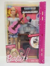 I CAN BE BARBIE- MUSICIAN DOLL PLAY SET WITH LOTS OF ACCESSORIES- Ages 3 & up