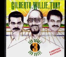 WILLIE ROSARIO , GILBERTO SANTA ROSA Y TONY VEGA - TRES CON CACHE - CD NEW