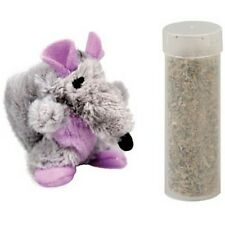 Kong Toy Cat Kong Rat with Herb a Cat Ref 560088