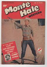 MONTE HALE WESTERN  #43  FAWCETT COMICS 1949   GABBY HAYES   SHARP COPY