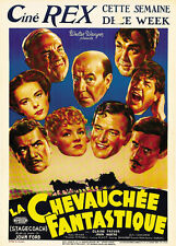 Stagecoach (1939) John Wayne Claire Trevor movie poster print 2