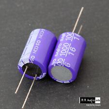 2PCS 1000uF 16V SANYO OSCON SA Large Aluminum Solid Capacitors long lead
