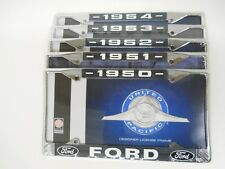 Pick (1) 1950 1951 1952 1953 1954 Car Truck Ford License Plate Tag Frame Holder
