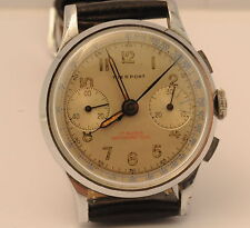 Pierpoint Vintage Chronograph Mens Watch - 1940's Manual Movement