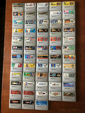 SNES Super Famicom Games Japanese Import NTSC-J Multi-Listing Unboxed Tested GC