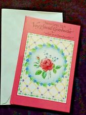 New What Is A Grandmother?  Grand Mother's Gift  book  card with envelope