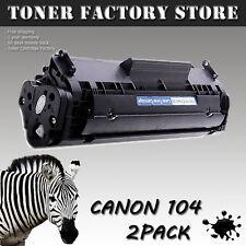 2PK Toner Cartridges For Canon FX9 / FX10 / C104 ImageClass MF4370dn MF4650