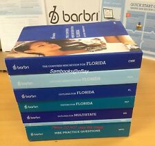 2016 ~ 2017  BARBRI FLORIDA (FL) COMPLETE BAR REVIEW SET