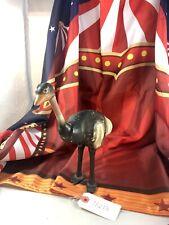 "9.5"" Antique American Composition Schoenhut Circus Ostrich Doll! Rare! Adorable!"