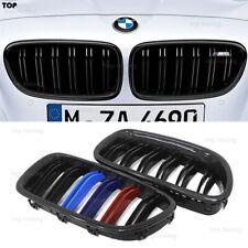 For BMW 5 Ser F10 520i 535i 540i & F10 M5 Front Kidney Grille Grill Carbon Fiber