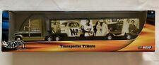 HOT WHEELS RACING TRANSPORTER TRIBUTE FIREBALL ROBERTS SEMI TRACTOR TRAILER Rare