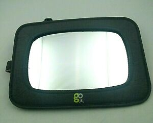Go by Goldbug Dual-Facing Mirror Shatter Resistant Wide Angle Convex Lightweight