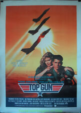 TOP GUN MOVIE POSTER TOM CRUISE FRENCH 47 BY 63 INCHES