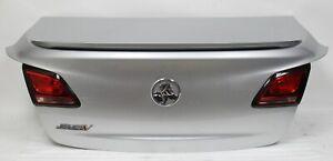 2014-2017 Chevrolet SS Sedan SILVER Trunk Rear Deck Lid w/ Wing USED OEM GM
